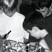 Kids Playing With Zometool